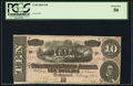 Confederate Notes:1864 Issues, T68 $10 1864 PF-10 Cr. 543.. ...
