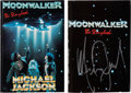 Music Memorabilia:Autographs and Signed Items, Michael Jackson Signed Moonwalker - The Storybook(Doubleday, 1988)....