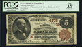 National Bank Notes:Missouri, Saint Louis, MO - $5 1882 Brown Back Fr. 474 The NB of Commerce Ch.# (M)4178. ...