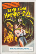 """Movie Posters:Horror, Beast from Haunted Cave (Film Group, 1959). One Sheet (27"""" X 41""""). Horror.. ..."""
