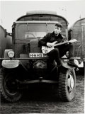 Music Memorabilia:Photos, Beatles - Two Astrid Kirchherr Signed Photographs of John Lennon(Hamburg 1960-1962).... (Total: 2 )