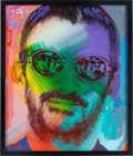 Music Memorabilia:Original Art, Ringo Starr Painting by Peter Max (1999)....