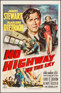 "Movie Posters:Drama, No Highway in the Sky (20th Century Fox, 1951). One Sheet (27"" X 41""). Drama.. ..."
