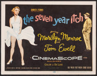 """The Seven Year Itch (20th Century Fox, 1955). Title Lobby Card (11"""" X 14""""). Comedy"""