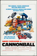 "Movie Posters:Action, Cannonball (New World, 1976). One Sheet (27"" X 41""). Action.. ..."