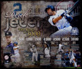 Baseball Collectibles:Photos, Derek Jeter Signed Oversized Print....