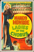 "Movie Posters:Comedy, Ladies of the Chorus (Columbia, R-1952). One Sheet (27"" X 41"").Comedy.. ..."