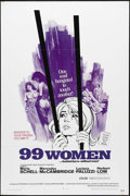 "Movie Posters:Bad Girl, 99 Women (Commonwealth United, 1968). One Sheet (27"" X 41""). Cultfavorite Jesus Franco directs this standard issue ""women i..."