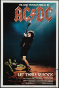 "Movie Posters:Documentary, AC/DC: Let There Be Rock (Warner Brothers, 1982). One Sheet (27"" X 41""). Lead singer Bon Scott and AC/DC play one of their g..."