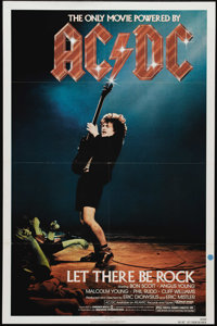 """AC/DC: Let There Be Rock (Warner Brothers, 1982). One Sheet (27"""" X 41""""). Lead singer Bon Scott and AC/DC play..."""