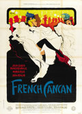 "Movie Posters:Musical, French Cancan (Gaumont 1955). French Grande (47"" X 63"") Style B...."