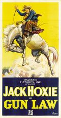 "Movie Posters:Western, Gun Law (Majestic, 1933). Three Sheet (41"" X 81"")...."