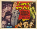 "Movie Posters:Film Noir, Journey into Fear (RKO, 1942). Title Lobby Card (11"" X 14""). ..."