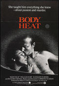 "Movie Posters:Film Noir, Body Heat (Warner Brothers, 1981). Australian One Sheet (27"" X 40""). Sultry femme fatale Matty Walker (Kathleen Turner, in h..."