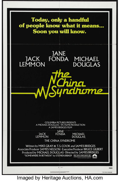 The China Syndrome (Columbia, 1979)  One Sheet (27