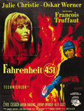 """Movie Posters:Science Fiction, Fahrenheit 451 (Universal, 1967). French Grande (47"""" X 63""""). ..."""