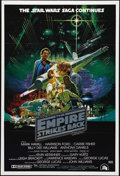 "Movie Posters:Science Fiction, The Empire Strikes Back (20th Century Fox, 1980). Australian OneSheet (27"" X 40""). The darkest of the original ""Star Wars"" ..."