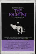"Movie Posters:Horror, The Exorcist (Warner Brothers, 1974). One Sheet (27"" X 41""). William Peter Blatty's novel is brought to the screen by Willia..."