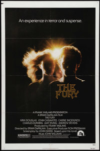 "The Fury (20th Century Fox, 1978). One Sheet (27"" X 41""). Government agent Kirk Douglas is looking for his kid..."