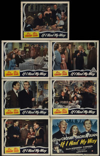 """If I Had My Way (Universal, 1940). Title Lobby Card (11"""" X 14"""") and Lobby Cards (6) (11"""" X 14""""). Thi..."""