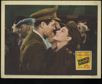 "Immortal Sergeant (20th Century Fox, 1943). Lobby Cards (3) (11"" X 14""). Henry Fonda is Corporal Colin Spence..."