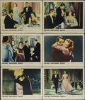 "Movie Posters:Romance, Indiscreet (Warner Brothers, 1958). Lobby Cards (6) (11"" X 14""). ""How dare he make love to me and not be a married man."" Car... (Total: 6 Items)"