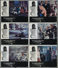 "The Italian Job (Paramount, 1969). Lobby Cards (6) (11"" X 14""). In Noel Coward's final film role he plays the..."