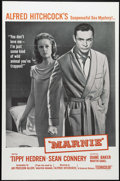 """Movie Posters:Mystery, Marnie (Universal, 1964). Military One Sheet (27"""" X 41""""). Following""""The Birds,"""" Tippi Hedren returns for more torture at th..."""