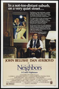 """Movie Posters:Comedy, Neighbors (Columbia, 1981). One Sheet (27"""" X 41""""). When the wrong kind of neighbors move into the house next door, a suburba..."""