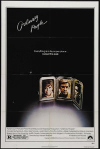 """Ordinary People (Paramount, 1980). One Sheet (27"""" X 41""""). """"So I was crying. Because I don't know if I lov..."""