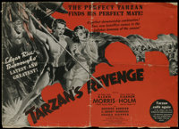 """Tarzan's Revenge (20th Century Fox, 1938). Pressbook (Multiple Pages). Johnny Weissmuller was the reigning """"Lord of..."""