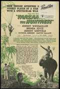 Movie Posters:Adventure, Tarzan and the Huntress (RKO, 1947). Pressbook (Multiple Pages).One of the most popular of the later RKO Tarzan series, wit...