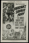 "Movie Posters:Adventure, Tarzan Lot (MGM, 1950s-1960s). Pressbooks (Multiple Pages). Titlesin this lot are ""Tarzan's Savage Fury,"" ""Tarzan and the V...(Total: 6 Items)"