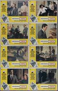 """Movie Posters:Hitchcock, Topaz (Universal, 1969). Lobby Card Set of 8 (11"""" X 14""""). Alfred Hitchcock's cold-war spy thriller features John Forsythe an... (Total: 8 Items)"""