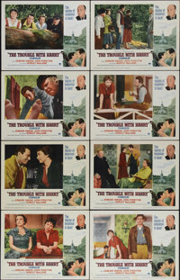 """The Trouble With Harry (Paramount, R-1963). Lobby Card Set of 8 (11"""" X 14""""). """"The Trouble With Harry""""..."""