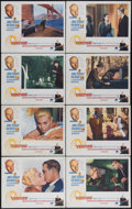 """Movie Posters:Hitchcock, Vertigo (Paramount, R-1960s). Lobby Card Set of 8 (11"""" X 14""""). Aretired San Francisco police detective is hired by an old f...(Total: 8 Items)"""