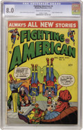 Golden Age (1938-1955):Superhero, Fighting American #6 (Prize, 1955) CGC VF 8.0 Cream to off-white pages....