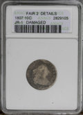 Early Dimes: , 1807 10C --Damaged--ANACS. F2 Details. JR-1. NGC Census: (6/226).PCGS Population (8/292).Mintage: 165,000. Numismedia Wsl....