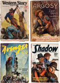 Pulps:Miscellaneous, Assorted Pulps Group of 17 (Various, 1913-1953) Condition: Average GD.... (Total: 17 Items)