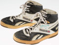Basketball Collectibles:Others, 1980's Conner Henry Game Worn, Signed Boston Celtics Shoes....