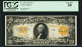 Large Size:Gold Certificates, Fr. 1187 $20 1922 Gold Certificate PCGS Very Fine 30.. ...