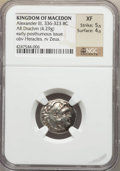 Ancients:Greek, Ancients: MACEDONIAN KINGDOM. Alexander III the Great (336-323 BC).AR drachm (4.29 gm)....