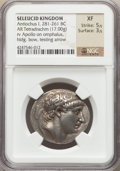 Ancients:Greek, Ancients: SELEUCID KINGDOM. Antiochus I Soter (281-261 BC). ARtetradrachm (17.00 gm)....