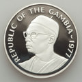 Gambia, Gambia: Republic Conservation Proof Set 1977,... (Total: 2 coins)