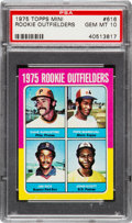 Baseball Cards:Singles (1970-Now), 1975 Topps Mini Jim Rice - 1975 Rookie Outfielders #616 PSA GemMint 10....