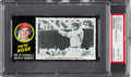 Baseball Cards:Singles (1970-Now), 1971 Topps Greatest Moments Pete Rose #15 PSA NM-MT 8....
