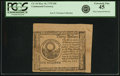 Colonial Notes:Continental Congress Issues, Continental Currency May 10, 1775 $30 Pink Counterfeit Detector Fr.CC-10DT. PCGS Extremely Fine 45.. ...