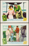 """Movie Posters:Adventure, The African Queen (United Artists, 1952). Lobby Cards (2) (11"""" X 14""""). Adventure.. ... (Total: 2 Items)"""