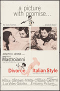 "Movie Posters:Foreign, Divorce Italian Style & Other Lot (Embassy, 1961). One Sheets (2) (27"" X 41""). Foreign.. ... (Total: 2 Items)"
