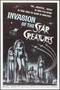 "Movie Posters:Science Fiction, Invasion of the Star Creatures (American International, 1962). OneSheet (27"" X 41""). Science Fiction.. ..."